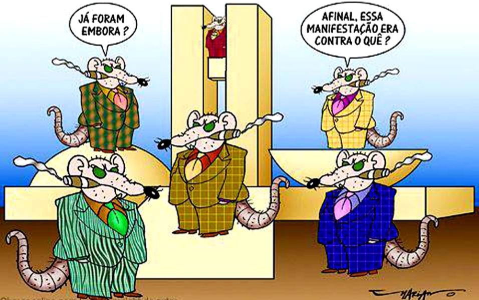 Resultado de imagem para políticos ratos charges
