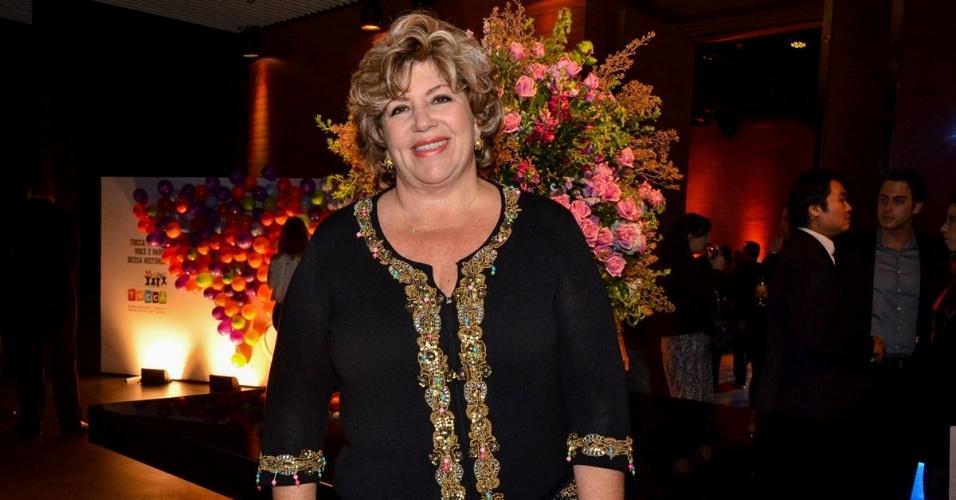 A apresentadora Silvia Popovic participa do jantar de 15 anos do TUCCA, que teve Tiaggo Abravane como atração musical