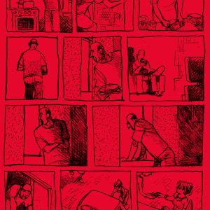 """Capa de """"Vizinhos"""", nova graphic novel do cartunista Laerte lançada pela editora Narval Comics - Divulgação/NarvalComics"""