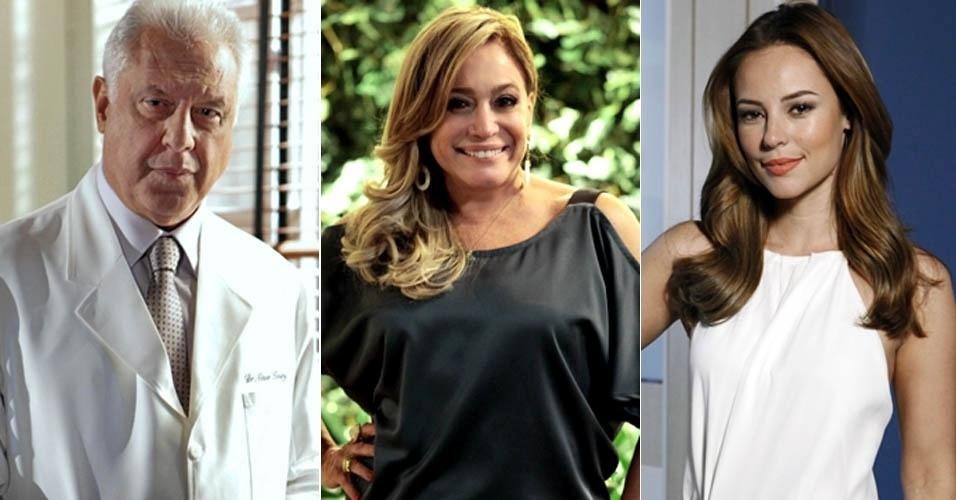 """Em """"Amor À Vida"""", César e Pilar são pais de Paloma"""