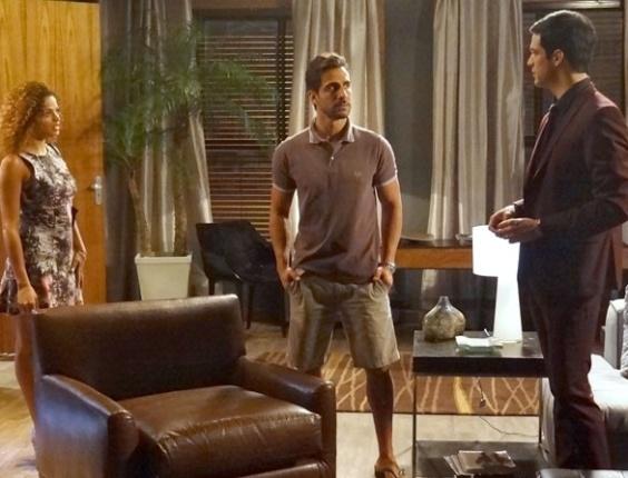 """Em """"Amor à Vida"""", Félix se dececpiona ao encontrar Jacques com uma mulher"""