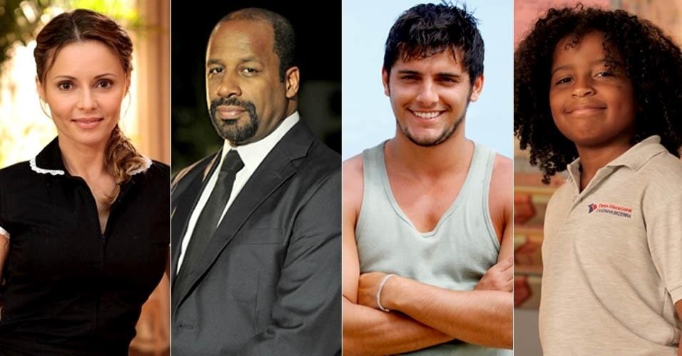 """Em """"Flor do Caribe"""", Doralice e Quirino tem dois filhos: Juliano e William"""