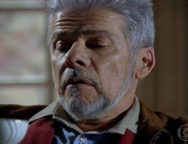 24.jun.2013 - José Mayer interpreta o vilão Zico Rosado, corrupto ex-prefeito de Bole-Bole do qual formigas saem das narinas quando nervoso