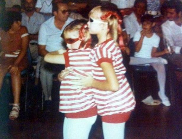 Luana Piovani aparece dançando na infância e diz que sempre gostou de