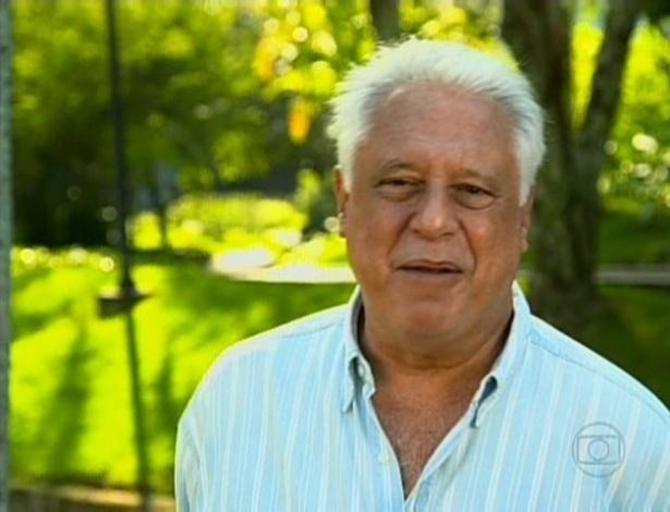 O ator Antonio Fagundes, o César de