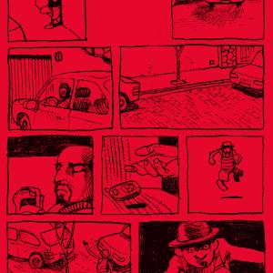 """O cartunista brasileiro Laerte lança """"Vizinhos"""" após dois anos do incidente que o inspirou ter acontecido em Perdizes, bairro de São Paulo - Divulgação/NarvalComics"""