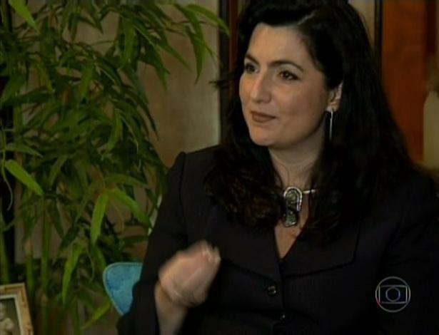 """O """"Encontro"""" mostrou uma mãe que teve a primeira filha no mesmo dia em que o programa estreou, 25 de junho de 2012"""