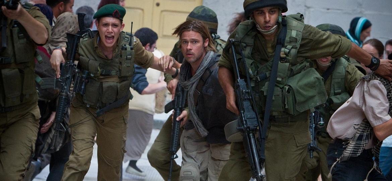 """Cena de """"Guerra Mundial Z"""", de Marc Forster e estrelado por Brad Pitt - Divulgação / Paramount"""
