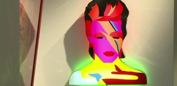 David Bowie voltou a ser tema de exposição em Londres, agora na Open Gallery - BBC