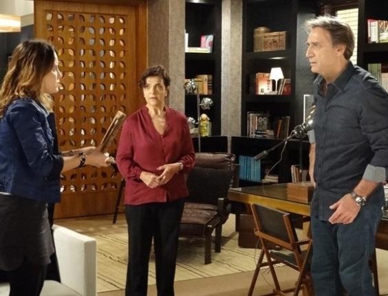 """Em """"Sangue Bom"""", Malu descobre que Rita é Irene e conta para Plínio"""