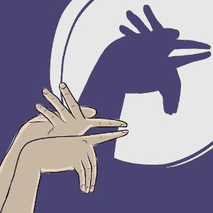ilustração de galo para o álbum de animais com sombras - Jeff Camargo/UOL