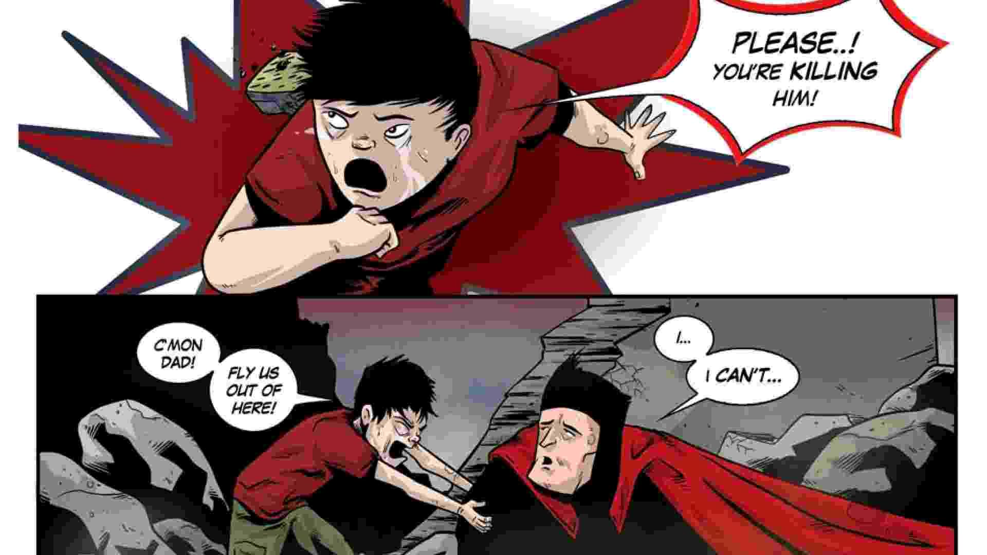 """A graphic novel """"Metaphase"""" é escrita pelo quadrinista Chip Reece e ilustrada por Kelly Williams - Divulgação"""