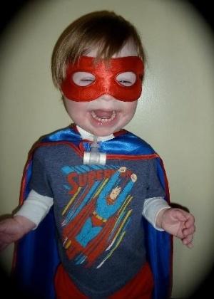"""Ollie, de três anos, herói do pai na HQ """"Metaphases"""" - Acervo Pessoal/Chip Reece"""