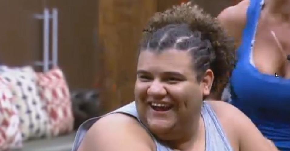 28.jun.2013 - Novo penteado de Gominho faz sucesso entre os peões