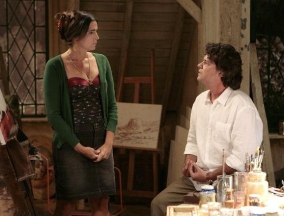 """Em """"Sangue Bom"""", Rosemere ameaça sair da casa de Perácio"""