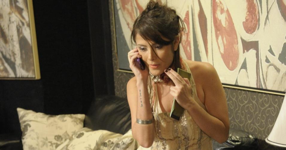 """Maria Casadevall em cena da série """"Lara Com Z"""", que foi ao ar em 2011 na Globo. Na trama, ela interpretou a personagem Maria Valentina"""