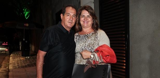 """Muricy Ramalho e a esposa, Roseli: """"Ele pode mandar no time, mas quem manda aqui sou eu"""" - Marcos Ribas e Manuela Scarpa/Foto Rio News"""