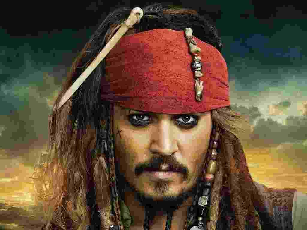 """Pôster de """"Piratas do Caribe"""" - Divulgação"""
