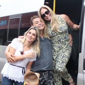 Flávia Alessandra e Susana Vieira se encontram no Amazonas para o Festival de Parintins
