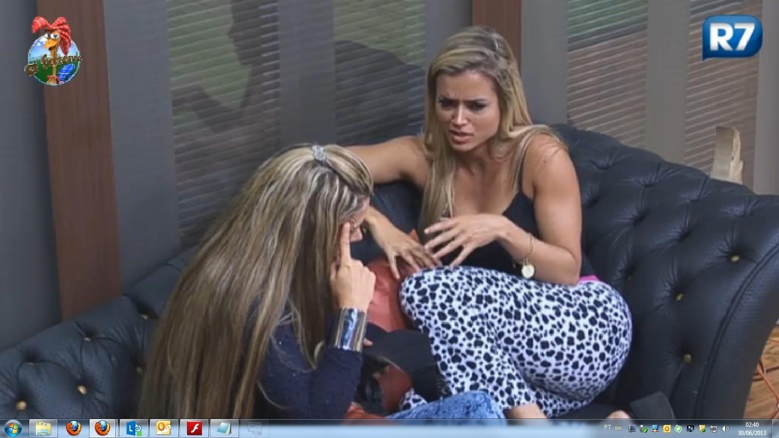 30.jun.2013 - Aryane acredita que foi manupulada por Andressa contra Ivo