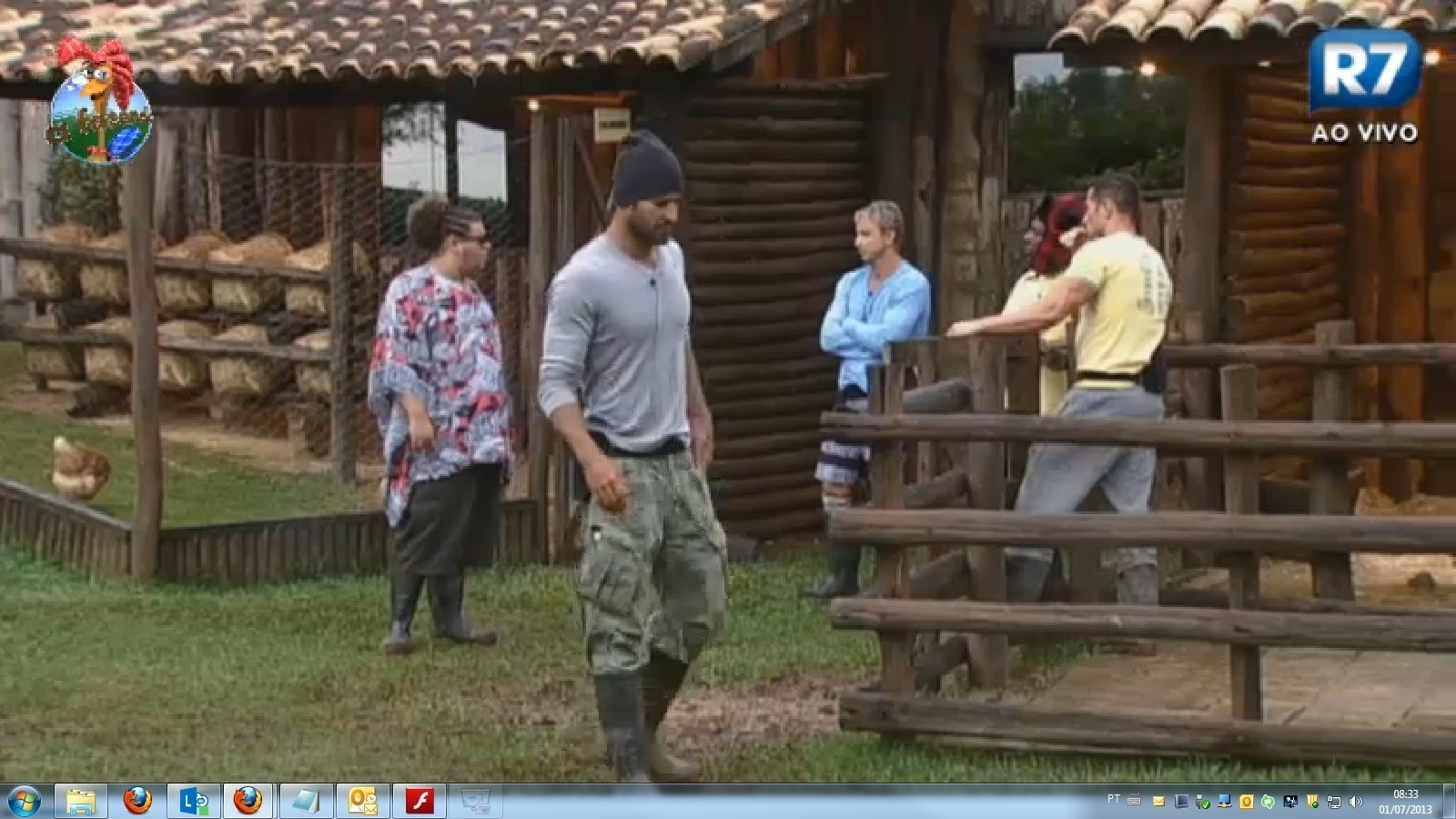01.jul.2013 - Peões falam mal das grosseiras se Lu Schievano