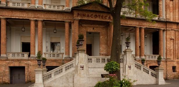 Fachada da Pinacoteca do Estado de São Paulo - Divulgação