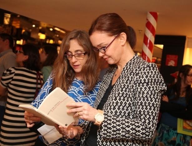 Júlia Lemmertz e Betty Gofmann também participaram do evento