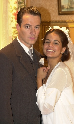 """Sua primeira vilã foi em """"Chocolate com Pimenta"""", onde atuou ao lado de Rodrigo Faro"""