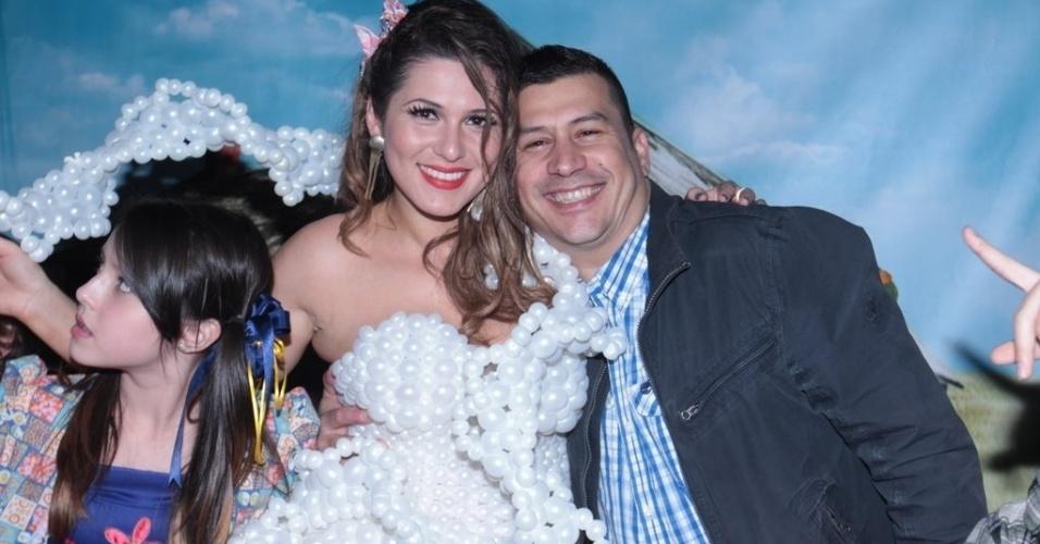 1.jul.2013 - A atriz Lívia Andrade, a vilã Suzana de