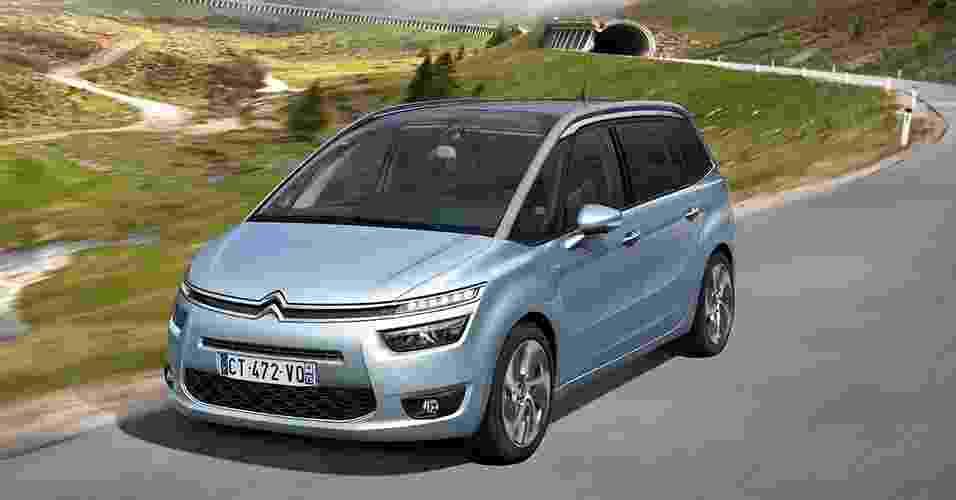 Citroën Grand C4 Picasso - Divulgação