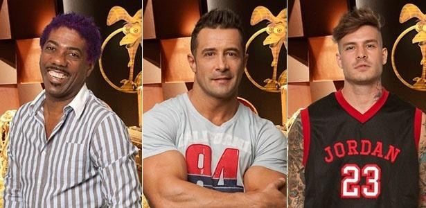 3.jul.2013 - Ivo Meirelles, Marcos Oliver e Mateus Verdelho disputam a Prova da Chave
