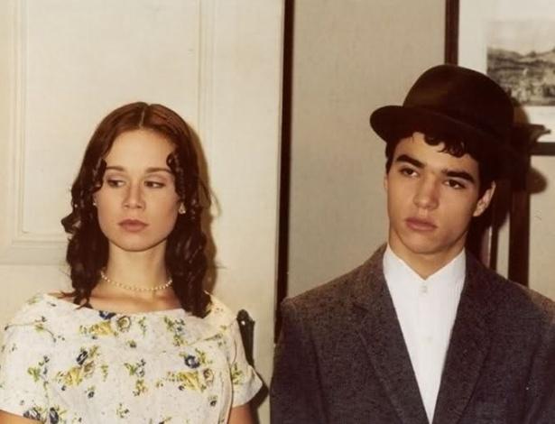 """Caio Blat e Mariana Ximenes se conheceram em 1996 quando contracenaram na novela """"Fascinação"""", do SBT"""