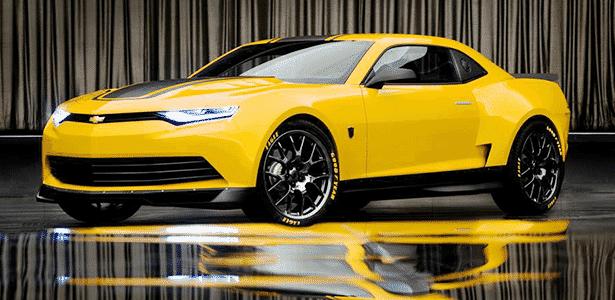 Chevrolet Camaro Transformers 4 - Divulgação - Divulgação