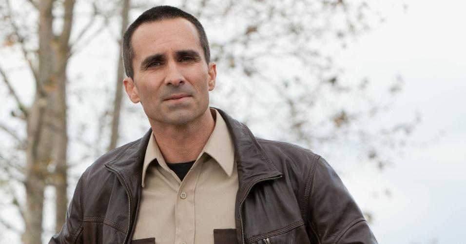 """Em """"Bates Motel"""", Alex Romero (Nestor Carbonell) é o xerife da polícia local"""