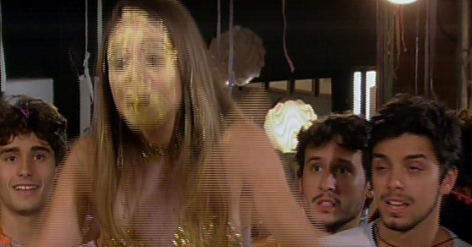 Malhação - Fatinha e Bruno despedida de solteiro 1