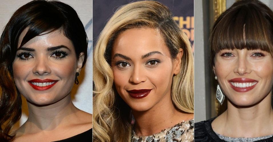 Vanessa Giácomo, Beyoncé, Jessica Biel