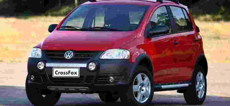 Volkswagen CrossFox, um dos carros mais fantasiados da história da indústria automotiva brasileira - Murilo Góes/UOL