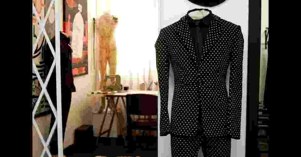 Ateliê e showroom do estilista João Pimenta, que fechou em 2012 sua loja em São Paulo - Haroldo Saboia/UOL