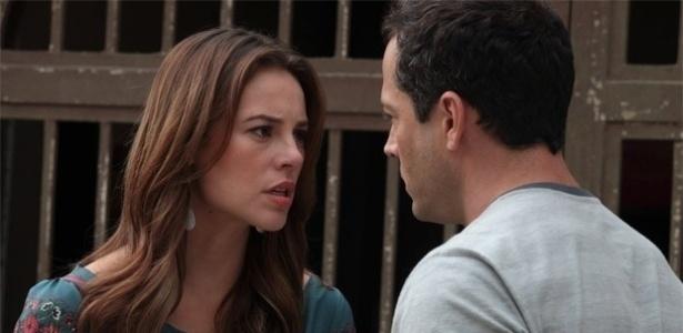 """Em """"Amor à Vida"""", Paloma diz a Bruno que é a verdadeira mãe de Paulinha"""