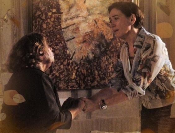 """Em """"Saramandaia"""", Vitória revela a Cleide que Zélia é filha de Zico Rosado"""