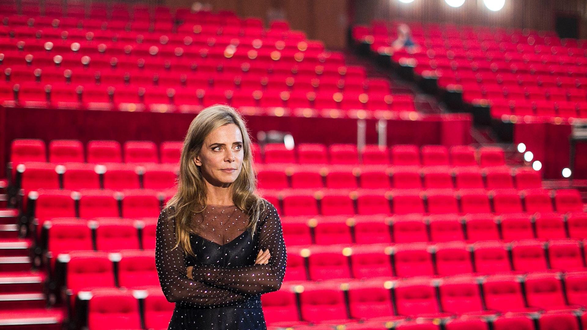 04.jul.2013 - Bruna Lombardi durante gravação do filme