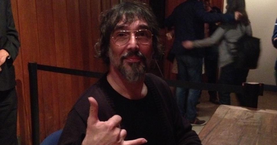 5.jul.2013 - O cantor Lobão participa de mesa sobre música em programação paralela da Flip, em Paraty