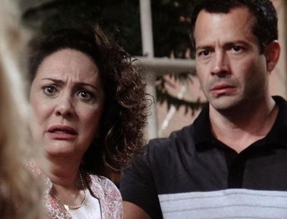 """Em """"Amor à Vida"""", Bruno, Ordália e Glauce temem ser presos"""