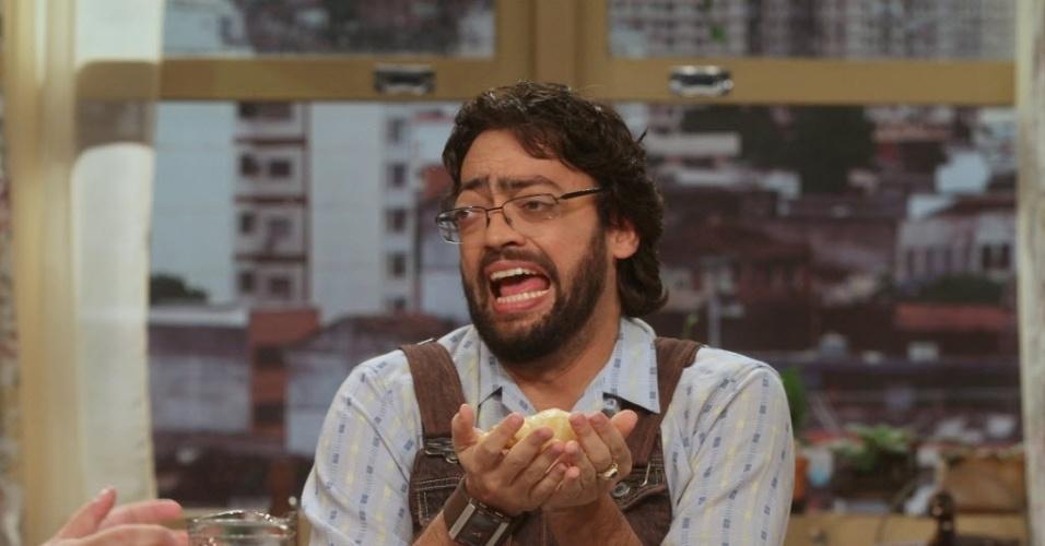 Fernando Caruso é o faz-tudo Wilson