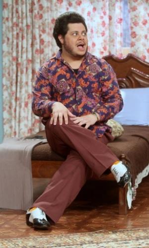 Marcus Majella vive o insolente Ferdinando, que tem Bárbara Streisand como seu ídolo maior