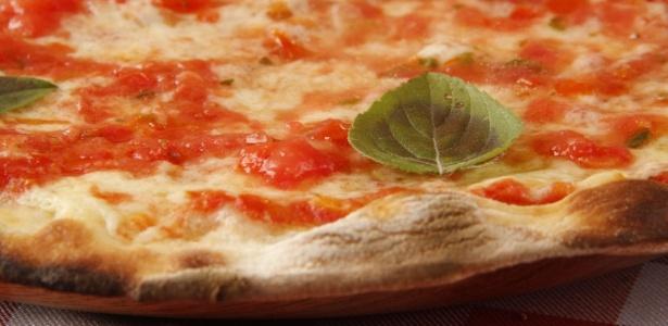 Pizza margherita é a preferida no mundo todo