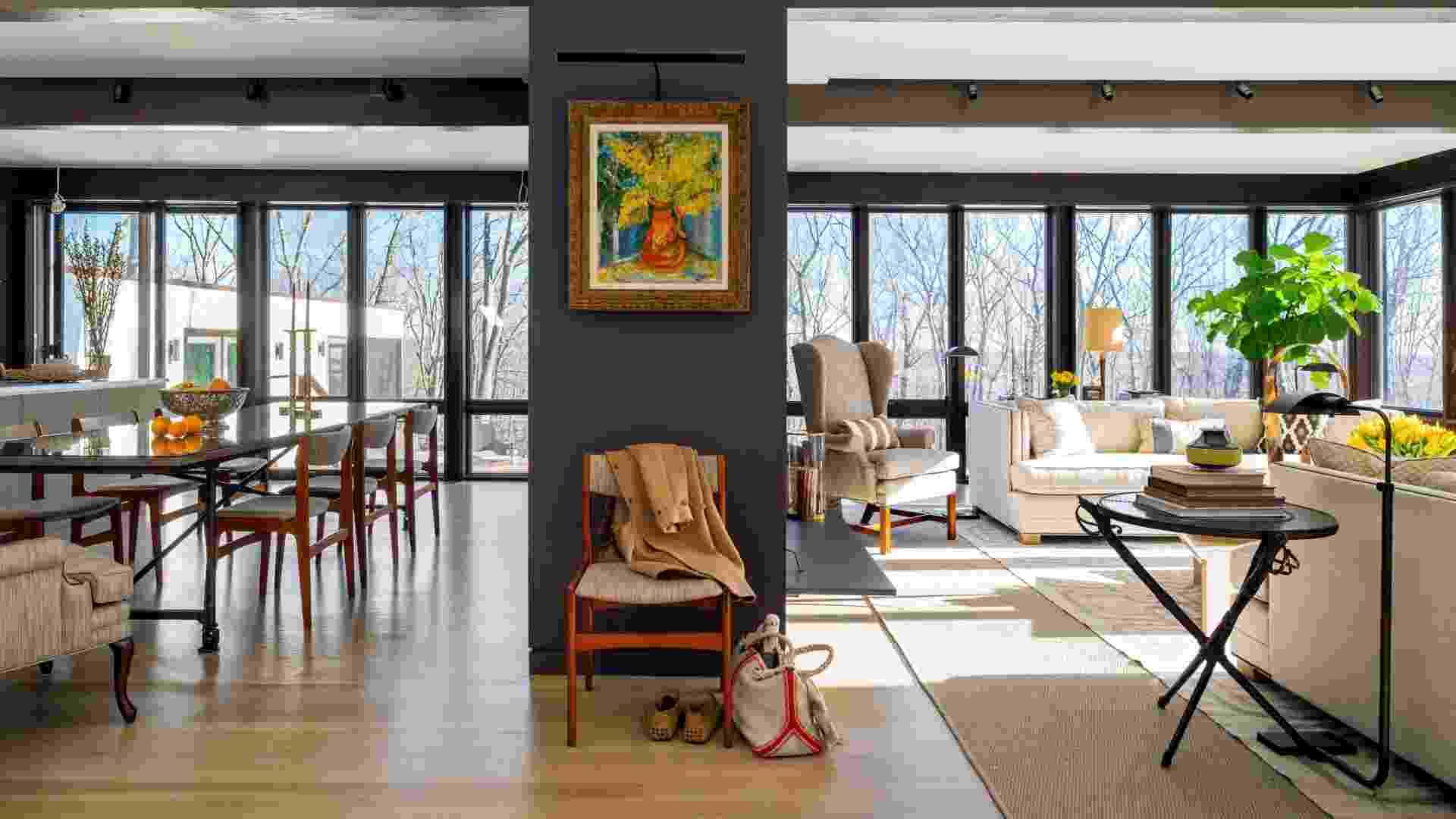 Restauro - Casa Modernista de vidro em Connecticut (imagem do NYT, usar apenas no respectivo material) - Trevor Tondro/ The New York Times