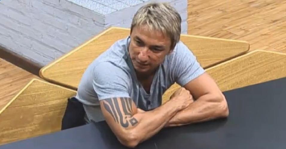 07.jul.2013 - Paulo Nunes diz que programa não vai mudar nada na vida dele, caso não ganhe prêmio