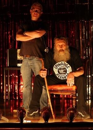 """Mitch Jenkins e Alan Moore, em foto de divulgação de """"Jimmy""""s End"""" - Divulgação"""
