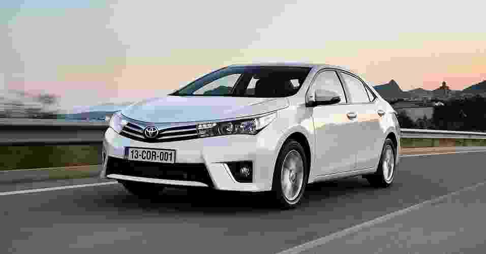 Toyota Corolla 2014 europeu - Divulgação
